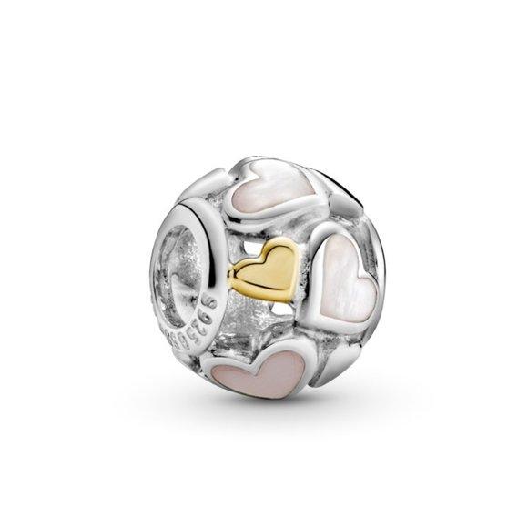 Pandora Jewelry - Pandora Luminous Hearts Charm